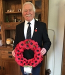 M Fisher UKIP Councillor Wreath Nov17
