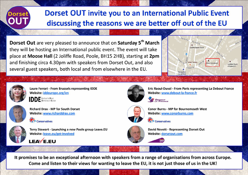 Dorset OUT Event 05.03.16